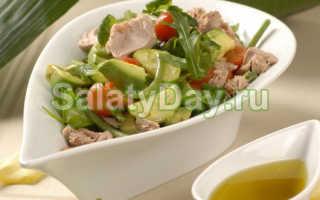 Салат с ананасом и тунцом