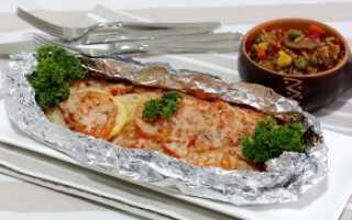 Красная рыба в духовке рецепты чтобы была сочная