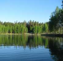 Голубые озера рыбалка