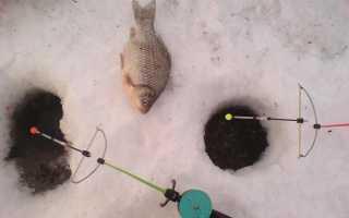 Кивок арбалет для зимней рыбалки своими руками