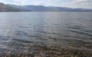 Озеро банное рыбалка
