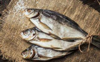 Срок хранения вяленой рыбы