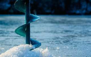 Толщина льда для рыбалки
