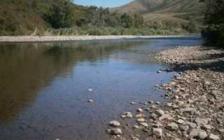 Рыбалка на реке иня