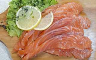 Как замариновать красную рыбу