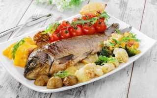 Сколько запекать рыбу в духовке