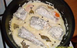 Рыба в майонезном соусе