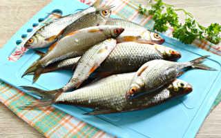 Мелкая рыба в духовке