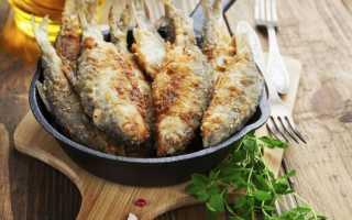 Сколько жарить речную рыбу