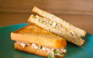 Сэндвич с тунцом рецепт