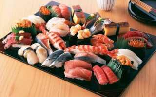 Японские блюда из рыбы