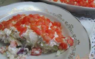 Салат из щуки