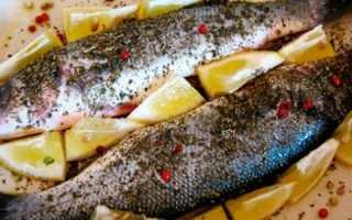Рыба сибас в духовке