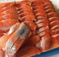 Как засолить филе красной рыбы