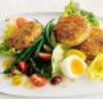 Салат к рыбным котлетам
