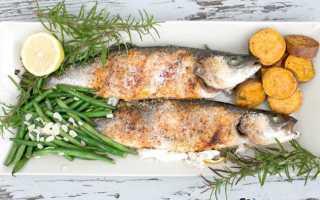 Постная рыба в духовке