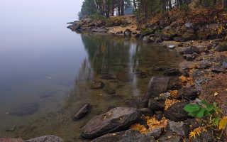 Рыбалка на озере таватуй