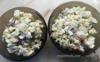 Салат из окуня
