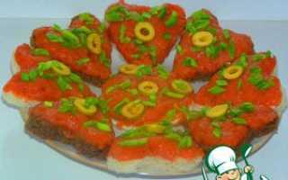 Бутерброды с горбушей