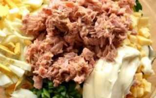 Соус для салата с тунцом