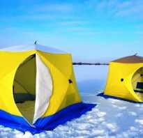 Обустройство зимней палатки для рыбалки
