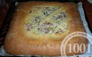 Пирог из сазана