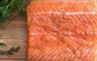 Засолка красной рыбы с водкой