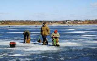 Рыбалка в марте