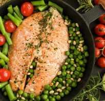 Гарнир к рыбе в духовке