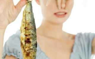 Признаки отравления рыбой