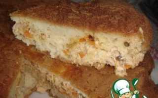 Начинка для пирога из горбуши