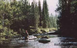 Рыбалка на северном урале