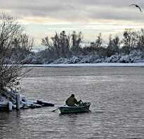 Рыбалка в ноябре на реке