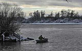 Рыбалка в ноябре на дону
