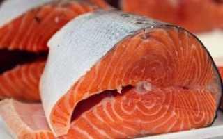 Красная рыба виды