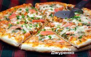 Пицца с семгой рецепт