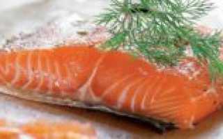 Как солить рыбу лосось